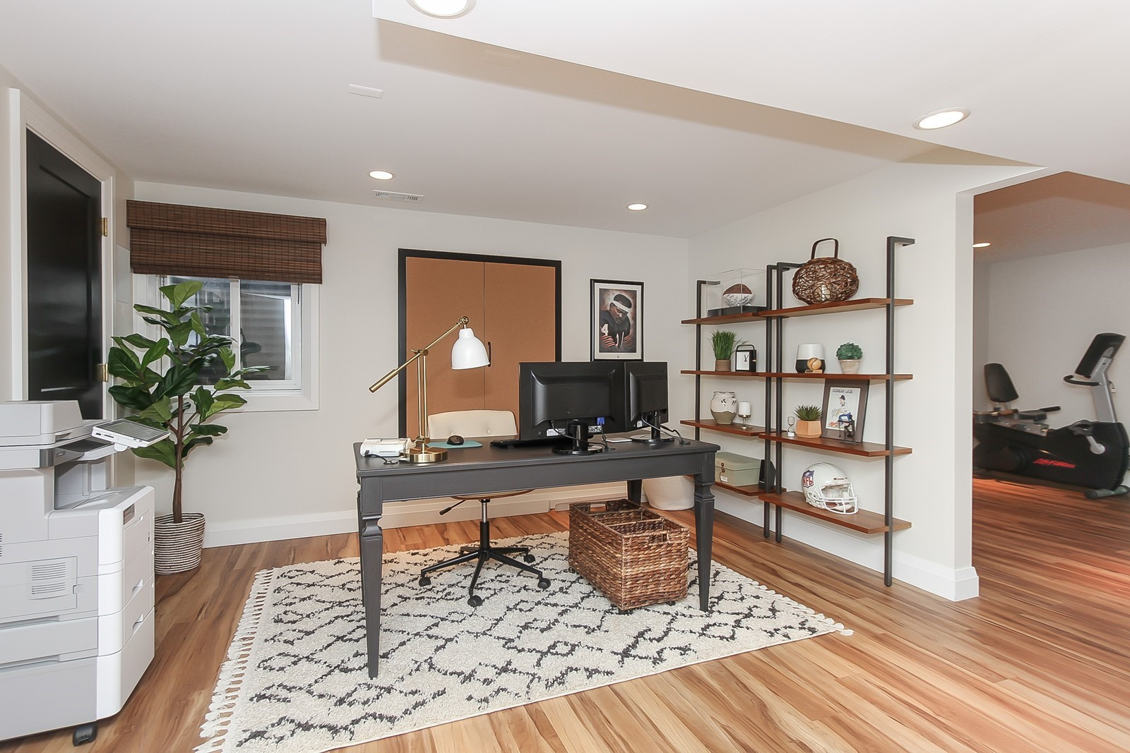 Home Office Workspace