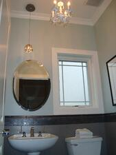Pedestal Sink- bathroom remodel