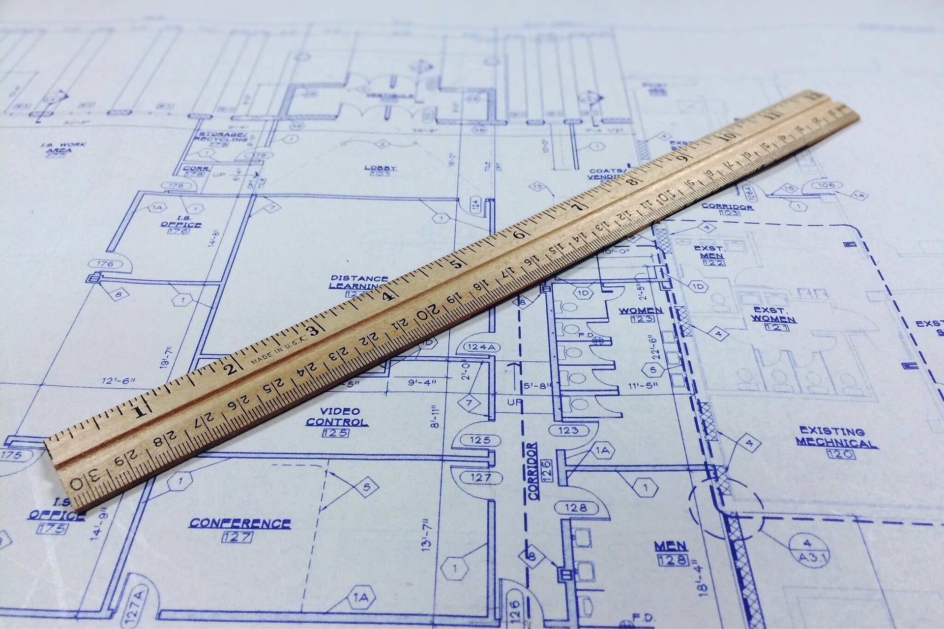 virtual design meeting blueprints