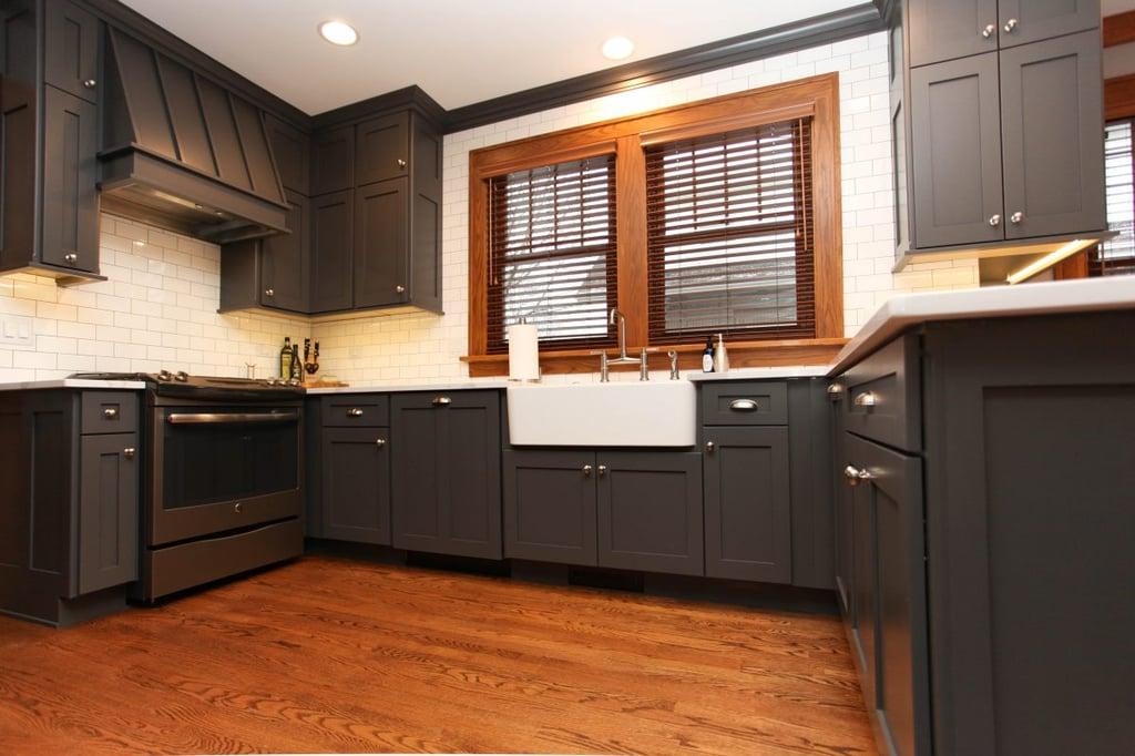 urban farmhouse kitchen