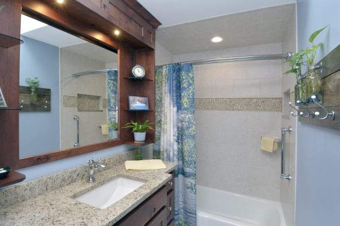 Door County Inspired Bathroom In The Northfield Area