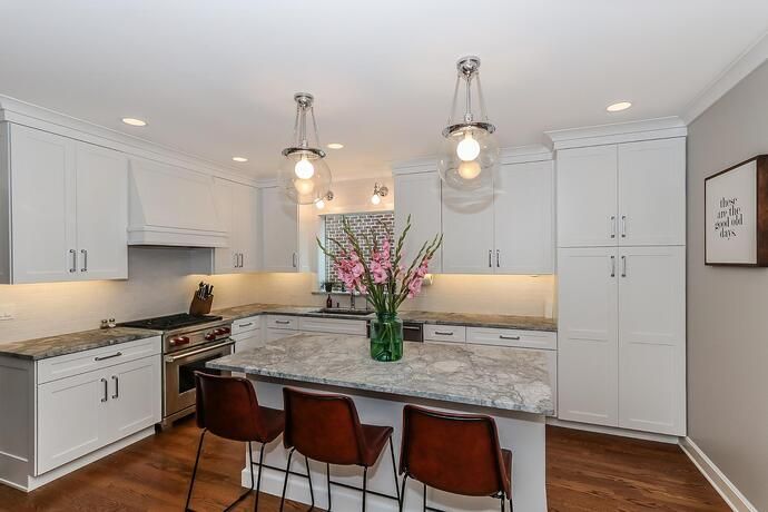Deerfield Area Simply Defined White Kitchen
