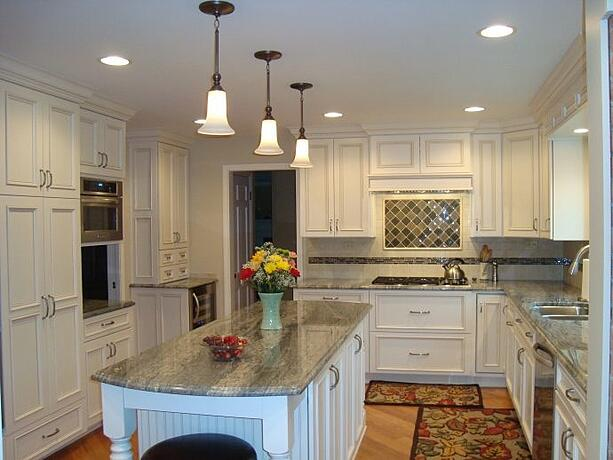 Deer Park Area Country Inspired Kitchen