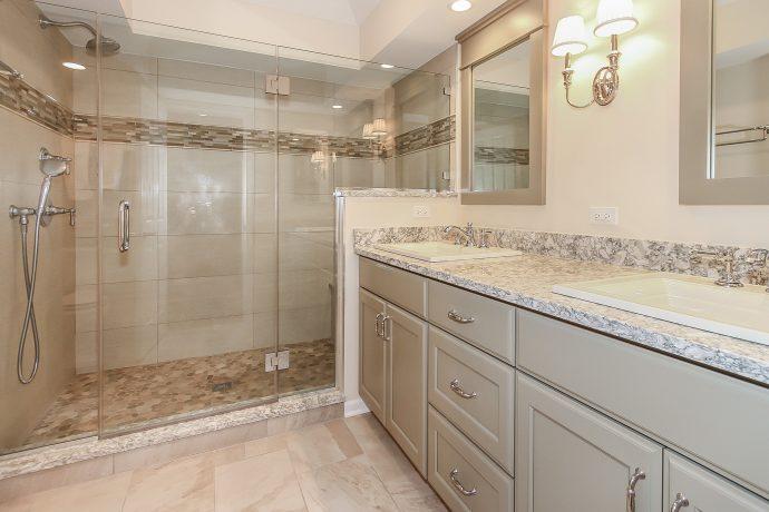 Master Bath Remodel in Arlington Heights, IL Patrick A Finn