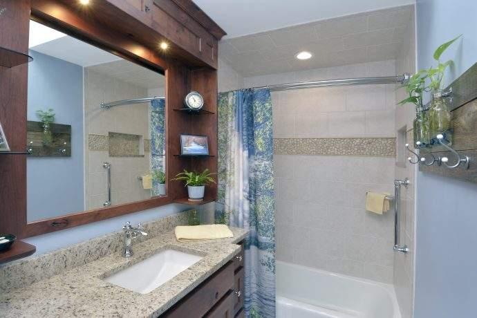 Door County Inspired Bathroom In The Prairie View Area