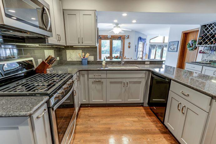 Arlington Heights Cool Gray Kitchen