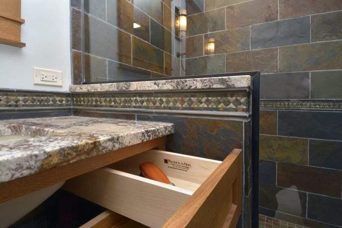 Craftsman Master Suite Bathroom