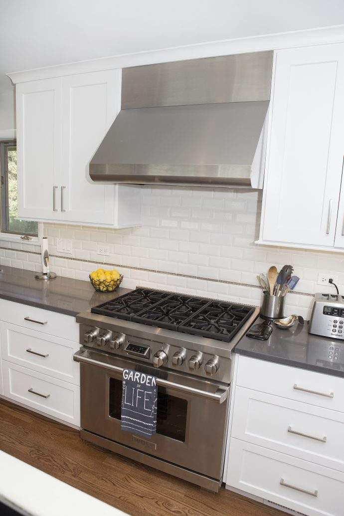 Arlington Heights Classic White Kitchen Remodel