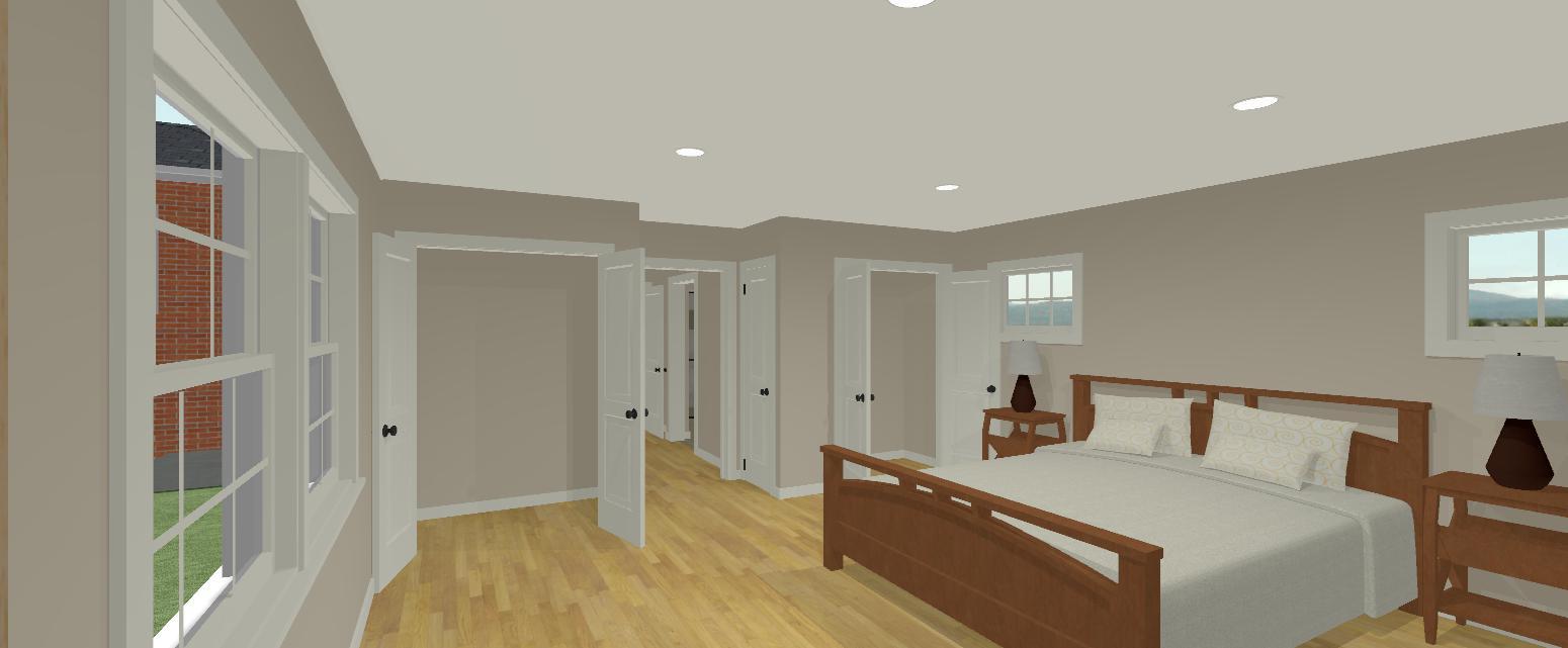 Design Rendering: Universal Design Master Suite Addition
